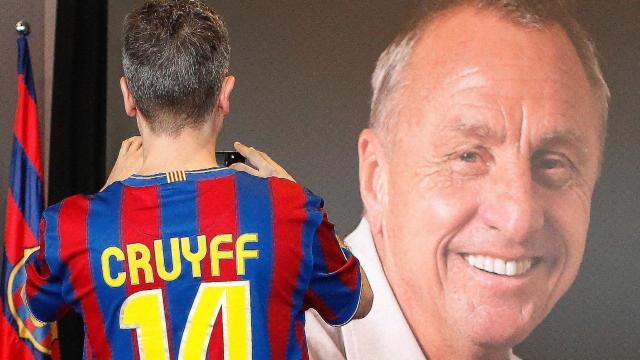 El Barça homenajea a Cruyff en el tercer aniversario de su fallecimiento recordando su filosofía