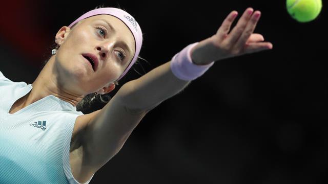 Tennis : la Nordiste Kristina Mladenovic bat la numéro 1 mondiale
