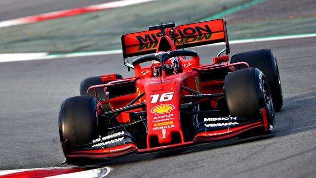 Leclerc et Ferrari dominent la deuxième journée d'essais