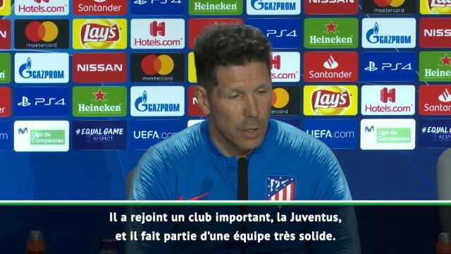 """Simeone : """"Ronaldo a fait un excellent choix en rejoignant la Juve"""""""