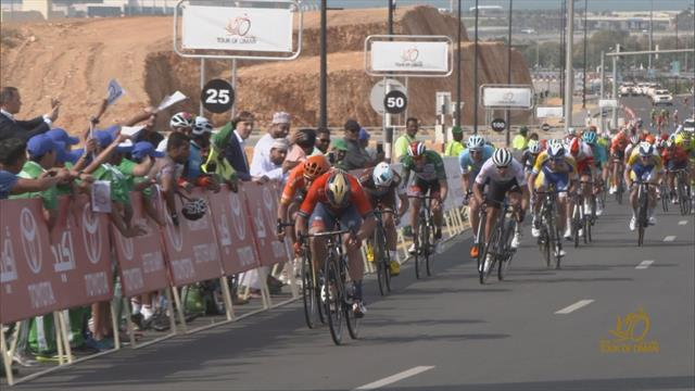 Colbrelli wins Stage 4 in Oman