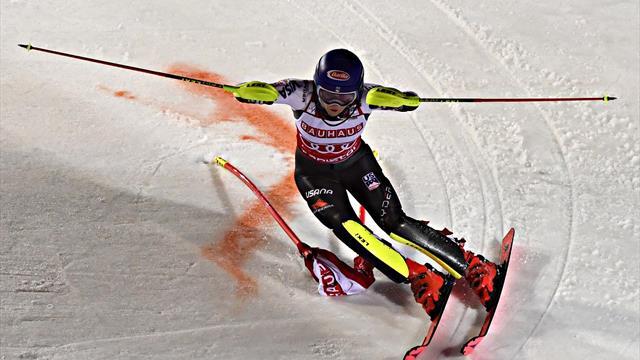 Alpineskien | Shiffrin wint wereldbeker in Stockholm