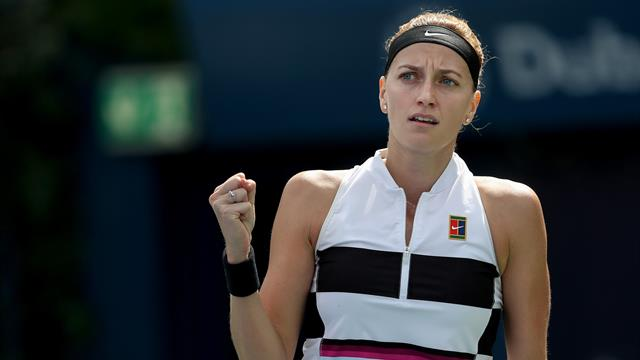 'Really proud' Kvitova qualifies for WTA Finals in Shenzhen