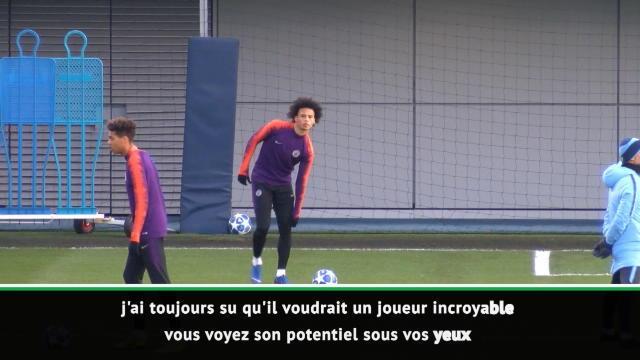"""8es - Guardiola : """"Sané deviendra encore plus fort"""""""