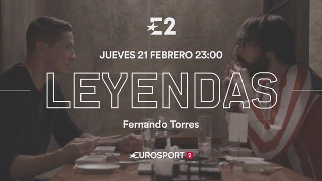 Fernando Torres estrena el programa 'Leyendas'