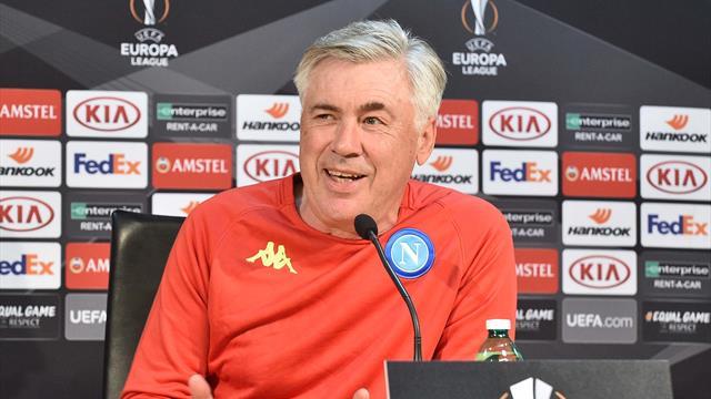 """Ancelotti: """"Siamo l'unica italiana in Europa, giocare con tre attaccanti è una possibilità"""""""