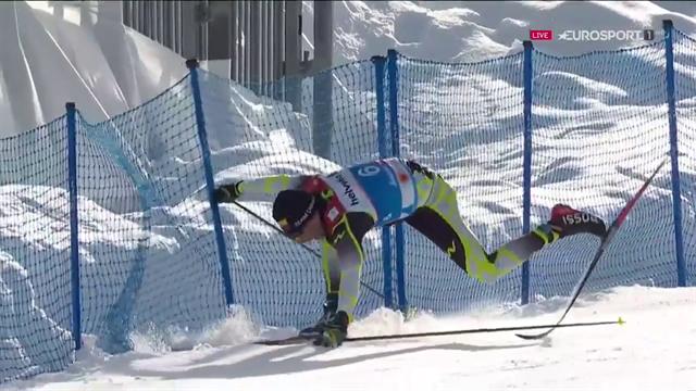 Cadute, ruzzoloni, sci rotti: con le qualificazioni dei Mondiali di sci di fondo c'è da divertirsi