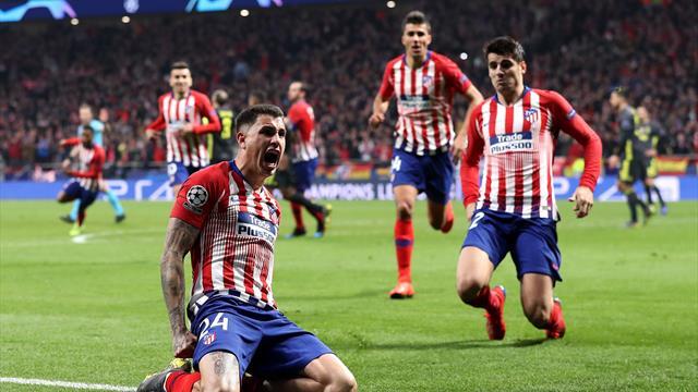 L'Atlético par KO