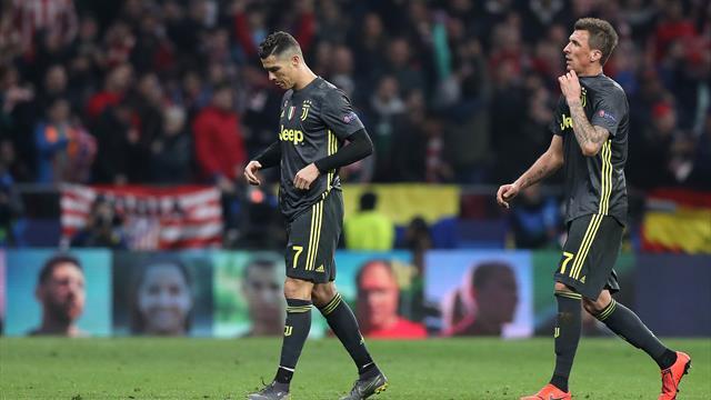 Le pagelle di Atletico Madrid-Juventus 2-0: male Bonucci, Mandzukic impalpabile, Godin mostruoso