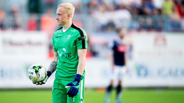 Keepertalent skrev ny kontrakt med Rosenborg