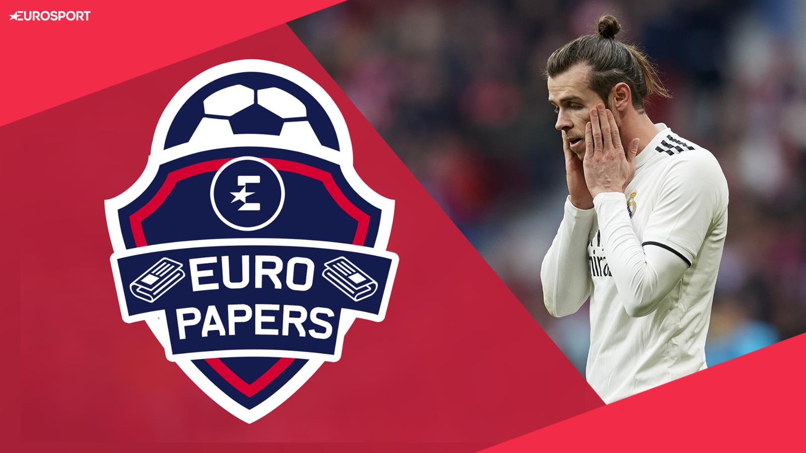 Video Euro Papers Real To Bin Off Gareth Bale In Bid Land Premier League Duo