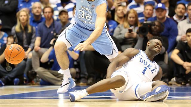 Zion Williamson's shoe malfunction puts Nike in the spotlight