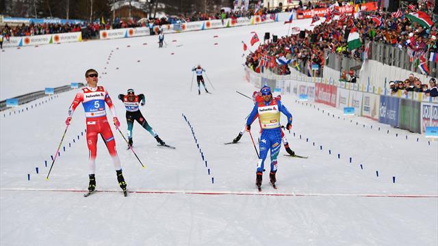 WK Seefeld | 22-jarige Klaebo wint cross-country sprint