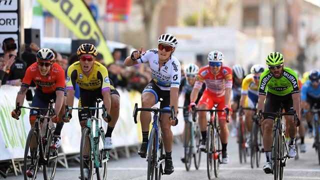 Ronde van Andalusie   Trentin wint de sprint in de tweede etappe