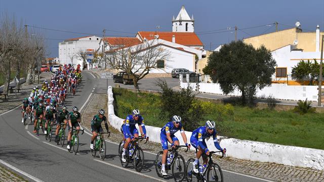 Ronde van Algarve | Sky rijdt peleton aan flarden, Pogacar wint