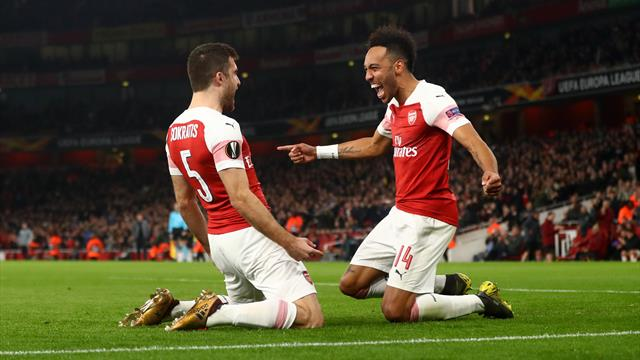 Arsenal cruise past BATE Borisov to reach last 16