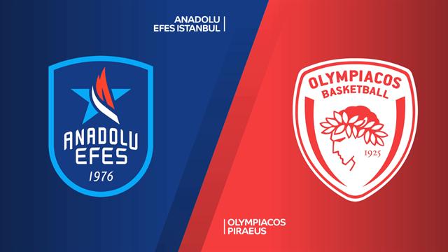 Highlights: Anadolu Efes-Olympiacos Pireo 75-65
