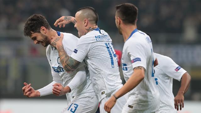 Inter sul velluto: netto 4-0 al Rapid e approdo agli ottavi di Europa League