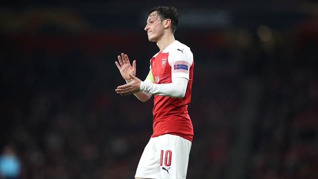 Emery can't guarantee Ozil a regular starting place at Arsenal