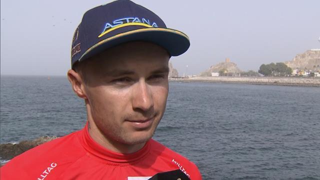 Lutsenko talks about Oman victory