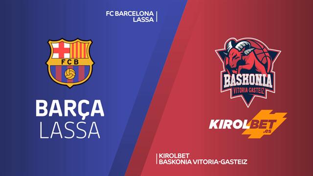 Highlights: FC Barcelona Lassa-Kirolbet Baskonia 77-67
