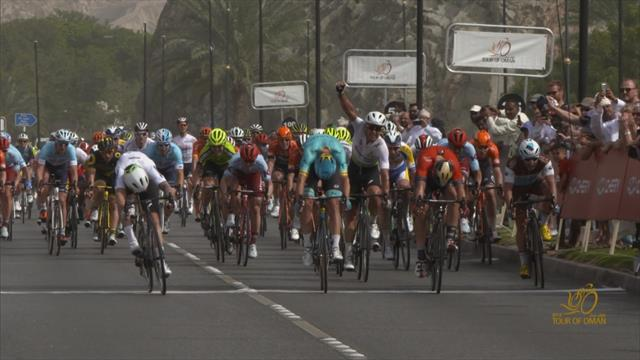 Nizzolo sprints to Stage 6 win at Tour of Oman