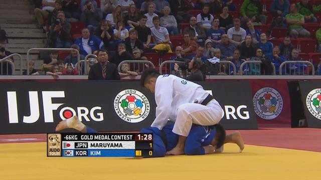 World Judo Tour: Japón arrebata el oro a Corea en la final de -66 kg
