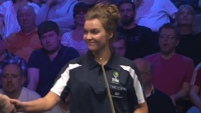 Emma Parker loses Shoot Out opener against Laxman Rawat