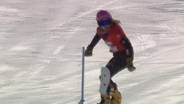 Sieg auf der Olympiastrecke: Hofmeister bezwingt Ledecka