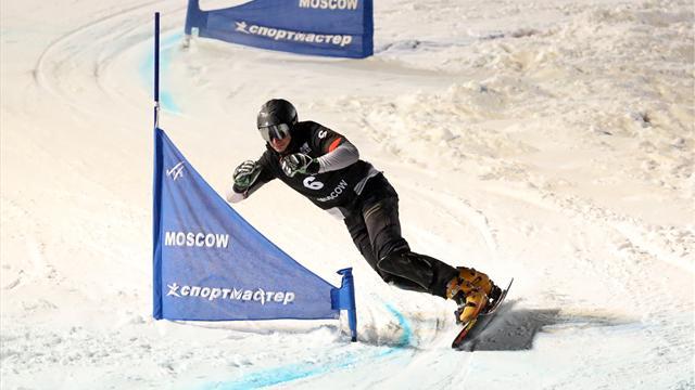 Соболев стал вторым в параллельном гигантском слаломе на КМ в Китае