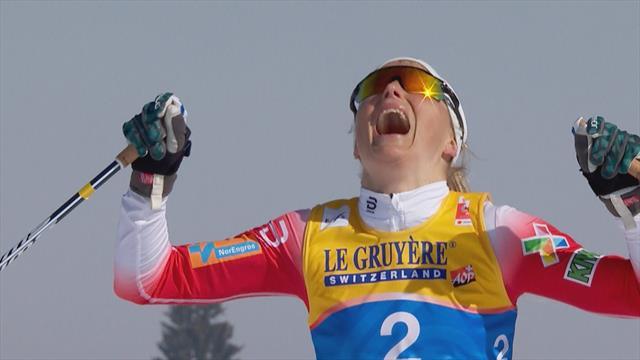 Seefeld 2019: Johaug lidera el doblete noruego en el esquiatlón femenino