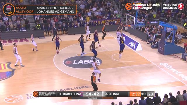 EuroLeague Top 10 plays: Round 23