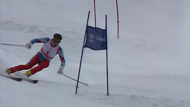 31 anni fa, il primo trionfo olimpico di Alberto Tomba: l'oro nel gigante di Calgary