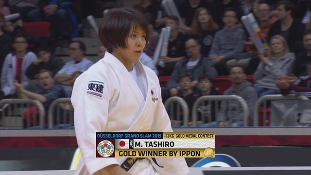 World Judo Tour: Un contundente ippon da el oro a la nipona Tashiro en -63 kg