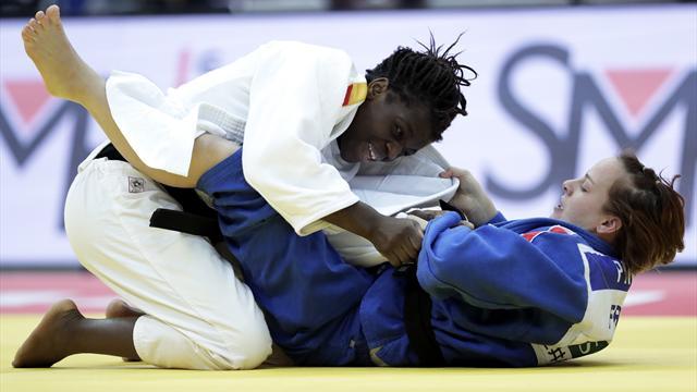 World Judo Tour: María Bernabéu regresa al podio en Dusseldorf con un trabajado bronce en -70kg
