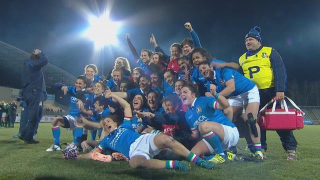 Italia-Irlanda 29-27, 1° storico successo delle azzurre nel 6 Nazioni contro le irlandesi
