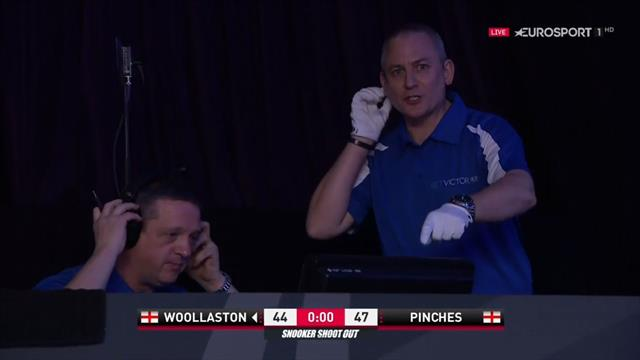 VAR drama at snooker as last-second pink goes to replays
