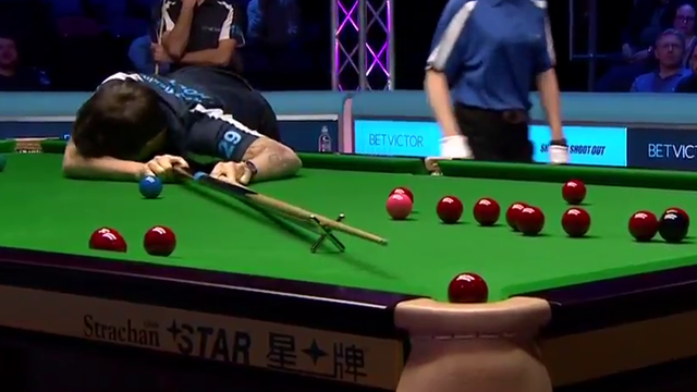Is this the worst shot in snooker history… or the best?!