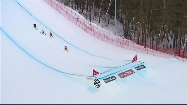 Smith and Luedi in Swiss 1-2 in Sunny Valley