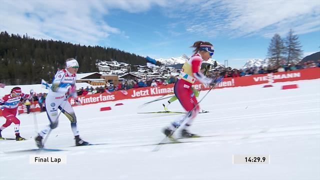 Белорукова проспала рывок соперниц и обидно прикатила четвертой в командном спринте