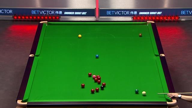 'Ridiculous fluke!' - Li Hang gets lucky against Kleckers