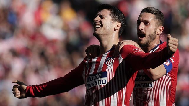 Morata ouvre son compteur et l'Atlético s'impose au petit trot