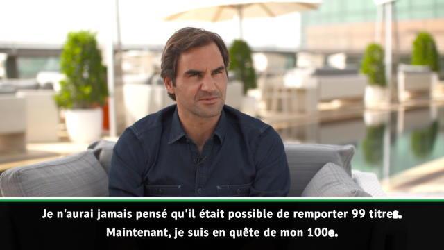 Federer de retour à Dubaï: