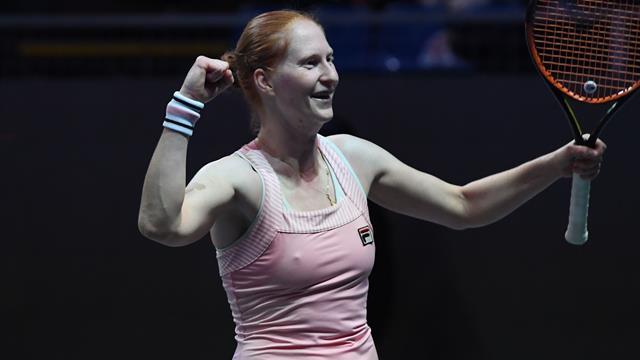 Alison Van Uytvanck conserve son titre à Budapest — WTA