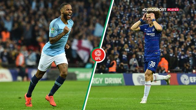 Highlights: Manchester City vinder Carabao Cuppen efter dramatisk straffesparkskonkurrence