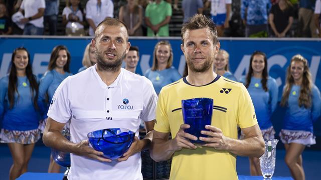 Albot s'offre à Delray Beach son premier titre — Tennis