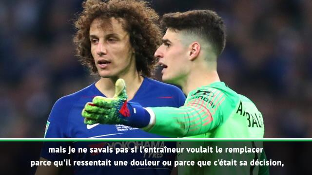 """Luiz sur Kepa : """"Je lui ai dit que nous devons respecter la décision de l'entraîneur"""""""