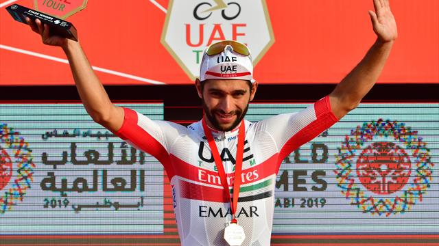 Gaviria takes UAE Tour Stage 2, Roglic remains leader