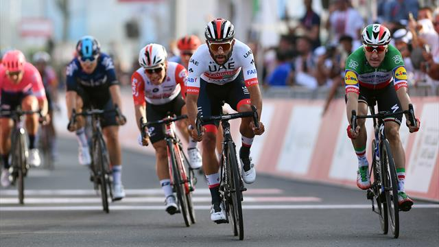 UAE Tour: Gaviria wins sprint on site of upcoming Special Olympics World Games