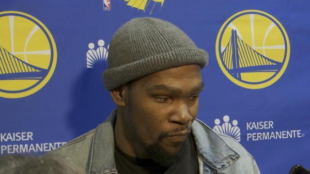 """Warriors - Durant : """"Une victoire qui fait du bien"""""""